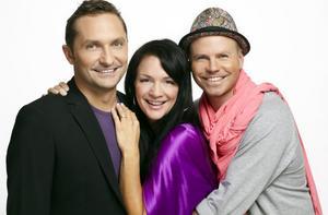 Trion i populära Morronzoo: Roger Nordin, Sofia Wistam och Ola Lustig.Foto: Peter Knutson