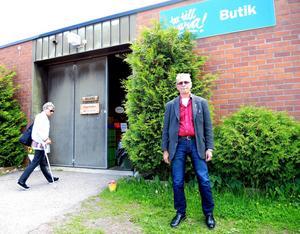 Sven Sandström har fått ta emot många studiebesök hos Ta till vara under våren.