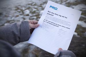 Protestlistorna finns både i pappersform och digitalt på föreningens hemsida.