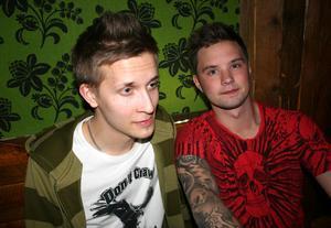 Konrad. Josef och Linus