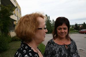 Erna-Britt Nordström och Madeleine Hansback har jobbat länge inom psykiatrin. Ett akutintag och en vassare vårdkedja står på deras önskelista.