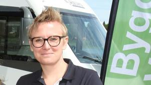 Hanna Leife, hållbarhetsstrateg vid kommunen.                    Fotograf: Bernt Josephson