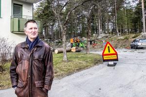 Bengt Abelsson bor på Abraham Bäckgatan.