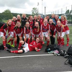 SIF:s f16-lag avslutade gruppspelet som gruppetta.