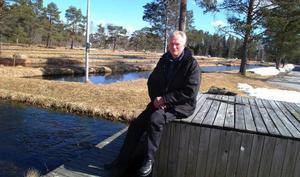 """""""Det går ju knappast att klaga på våra lektionsutrymmen"""", säger Vattenbrukscentrum Norrs platschef i Kälarne, Torleif Andersson, som är en av de blivande lärarna när den nya undervisningen startar i höst."""