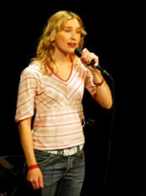 Ulika Bodéns uppträdande var en del folkmusikdagen på Konsertteatern.