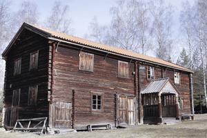 Nytt enkupigt tegel lades på Frisbohuset år 2012.