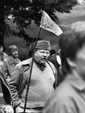 Jan Myrdal. En annan tid, en annan march.