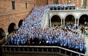 Nya poliser. När året är slut har länet fått 51 nya poliser som alla ska arbeta i yttre tjänst i länets fyra närpolisområden. Det gör att vi har drygt 100 poliser fler i länet vid årsskiftet jämfört med 2006.foto: scanpix