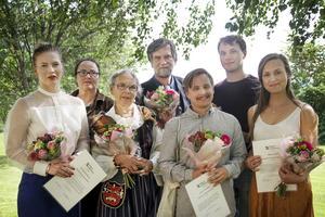 Kristin Sundberg, Lena Wennberg, Barbro Olsson, Jens Ahlbom, Jonas Westlund, Johan Bodell, Maja Lindh. Pristagaren Anna Jörgensdotter kunde inte närvara under ceremonin.