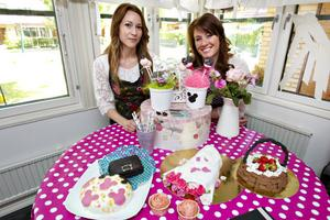 Att det ska vara roligt att fika är Sophia Andersson och Sandra Eklunds motto. De är Gävletjejerna som älskar bakning och sockerkonst, och drömmer om att ägna sig åt det på heltid.