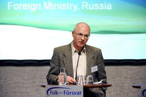 Ryssland i blickpunkten. En representant för det ryska utrikesministeriet talade på Folk och Försvars konferens, men det finns anledning att oroa sig för vad som händer i Ryssland.