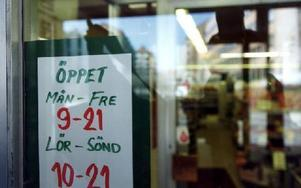 Idag är nästan alla butiker söndagsöppna. Foto: Pawel Flato/SCANPIX