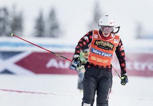 Söndagens världscupvinnare Marielle Thompson berättar att hon tänker på Anna Holmlund hela tiden.