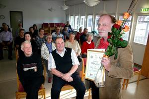 Dag Stranneby blev Hörsamma person när Hörselskadades förening i Lekeberg i lördags firade Hörselskadades dag.
