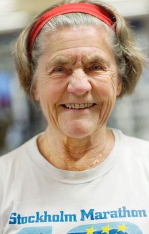 Besöket på gymmet är ett stående inslag på veckoschemat för Inger Hultgren. Med tio vasalopp och lika många maraton i bagaget lägger man inte av med träningen för att man fyllt 78.