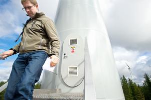 5000 hushåll kommer att få vindel från Tavelberget 3000 vindtimmar per år