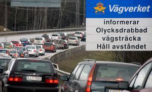 Ta det lugnt i trafiken under påsken.