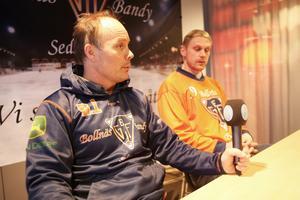 Klubbchef Robert Lindgren sitter nöjd med förvärvet av Patrik Nilsson.