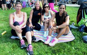 Sofia Tarberg, Linda Berg, Jennifer Bahadori och Katharina Engebo.