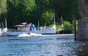 I dag är det inte tillåtet att köra vattenskoter och jetski i sjöar och farleder. Foto:AnnkiHällbergFoto:Annki Hällberg
