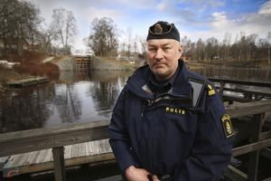 Magnus Strömberg, stationsbefäl Polisen i Fagersta.