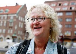 Margareta Strömgren, Frösön:– Jag har sånt där giro fortfarande. Jag har tänkt många gånger att jag ska ordna så jag kan betala räkningar via internet, men jag har varit lite för slö för att fixa det.