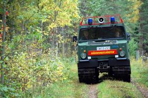 Eleverna fick också prova att köra bandvagn något Emil Sundman tyckte var jättekul.