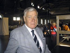 Förbundsordförande Karl-Erik Olsson gästade gränsträffen i Svabensverk och förklarade att SPF kommer att fortsätta att jobba hårt med skattefrågan för pensionärer med mottot lika skatt för alla.