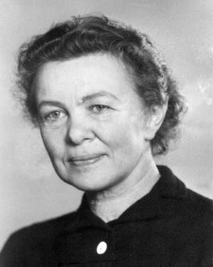 Stina Aronsson bodde i Östersund i början av 1930-talet.