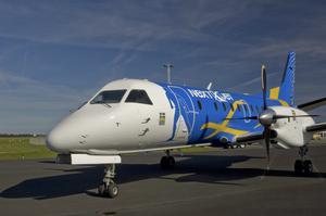 Nextjet flyger från Västerås.
