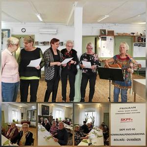 ABF:s sångkör, samt bilder på ytterligare några av våra medlemmar.