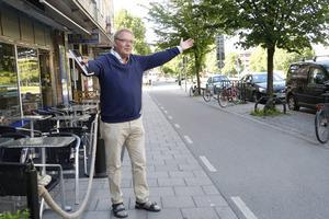 Festivalgeneralen Krister Ederth har mycket att stå i inför Stadsfesten som hålls i Gävle 29 juli-1 augusti.