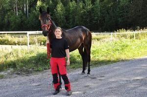 Ann-Chatrine Svensson har en bra säsong med Julia Kaulitz bakom sig.