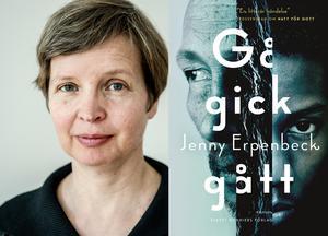 Jenny Erpenbeck skriver mitt i samtidens flyktingkris. Foto: Lars Pehrson