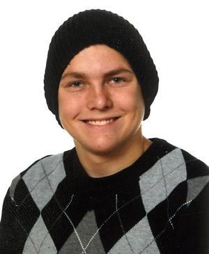 Sebastian Strandberg, 18 år.