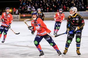 Andreas Westh får plats i Bandypuls lag för första gången den här säsongen.
