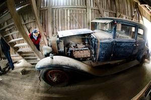 Ryktesbil. Det var den här Cadillacen som vållande uppståndelse. Den såldes två gånger och hamnade tillslut i Dylta bruk.