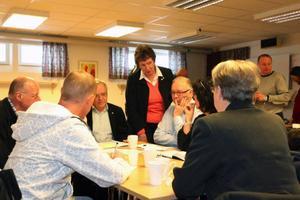 """Lisbeth Godin Jonasson från Svenskt Näringliv hoppas att diskussionerna ska leda till att utvecklingen går framåt i Norrlands inland. """"Arbetssituationen är väldigt allvarlig i Härjedalen"""", säger hon. Foto: Håkan Degselius"""