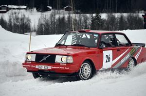 Det var tätt mellan förarna i tvåhjulsdrivna klassen, grupp H. Pär Swedh var trea, 2,4 sekunder efter vinnaren.
