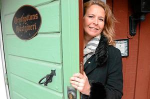 Öppnar dörren för nysatsning. – Att få ta ansvar för Grythyttans gästgiveri och dess utveckling fyller mig med stolthet, säger Mia Spendrup, blivande vd för gästgiveriet.