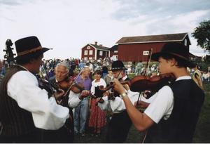Spelmännens Bingsjöstämma på 1990-talet.