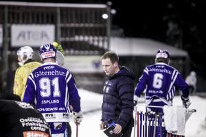 Tränare Johan Sixtensson.