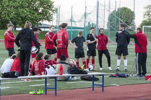 Nystartade herrlaget i Bik SK är just nu serieledare i Division 6 Södra/Västra. De unga killarna från de egna leden har fått sällskap av några äldre spelare från HFC United, men det är de träningsvilliga spelarna födda 1998-2000 som utgör stommen.