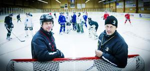 Tommy Hellgren och Håkan Hellgren tror på en roligare säsong än i fjol.