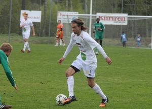 Johan Edberg blev stor matchhjälte med sina två mål.