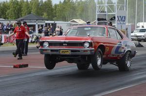 Nalle Eriksson från Borlänge vann Stock/Super stock och går därmed upp i SM-ledning.