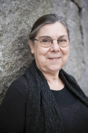 Kristin Hallberg, litteraturvetare.   Foto: Eva Dalin