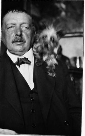 Anders Zorn på nyårsdagen 1920, ett av få foton som är daterade. Staffan Lamm: