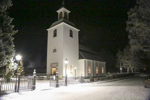 Kyrkan i Linsell, en av flera i Svegsbygdens församling.